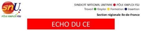 Echo du CE Novembre 2017
