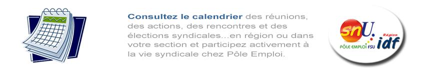 Agenda du SNU PE IdF