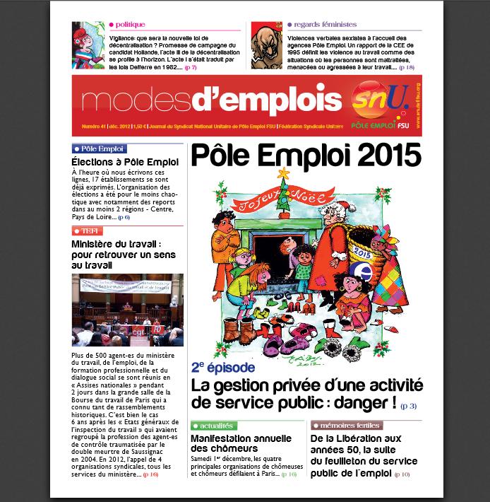 """Modes d'emplois"" n°41"