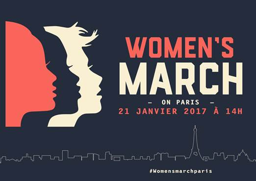 Women's march à Paris