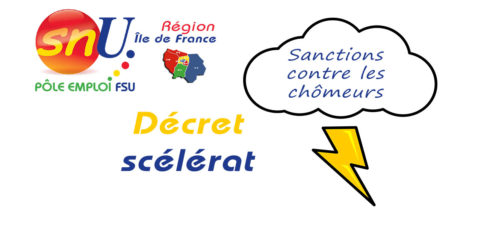 Sanctions contre les chomeurs