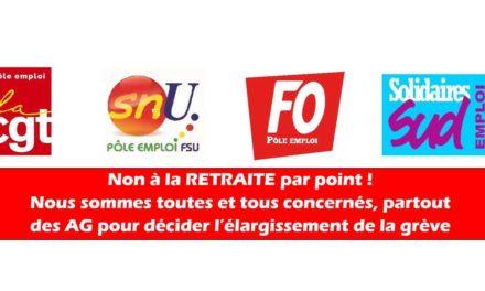 Grève intersyndicale du 09 janvier