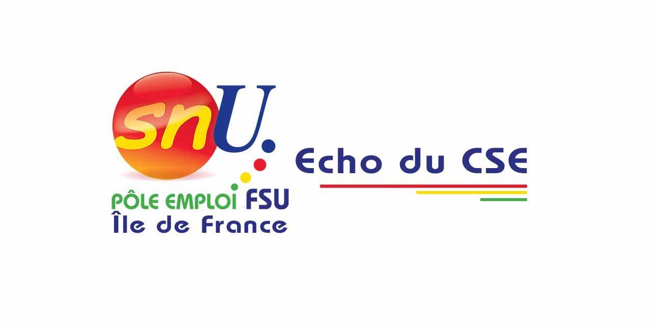 ÉCHO CSE DÉCEMBRE 2020 – POLITIQUE SOCIALE, VISITES D'INSPECTION, PRIME