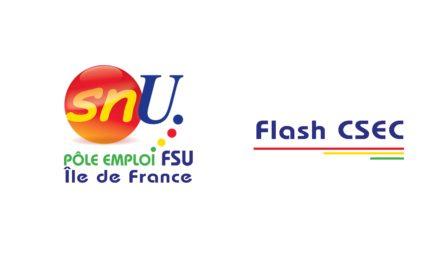 Flash CSEC du 1er septembre