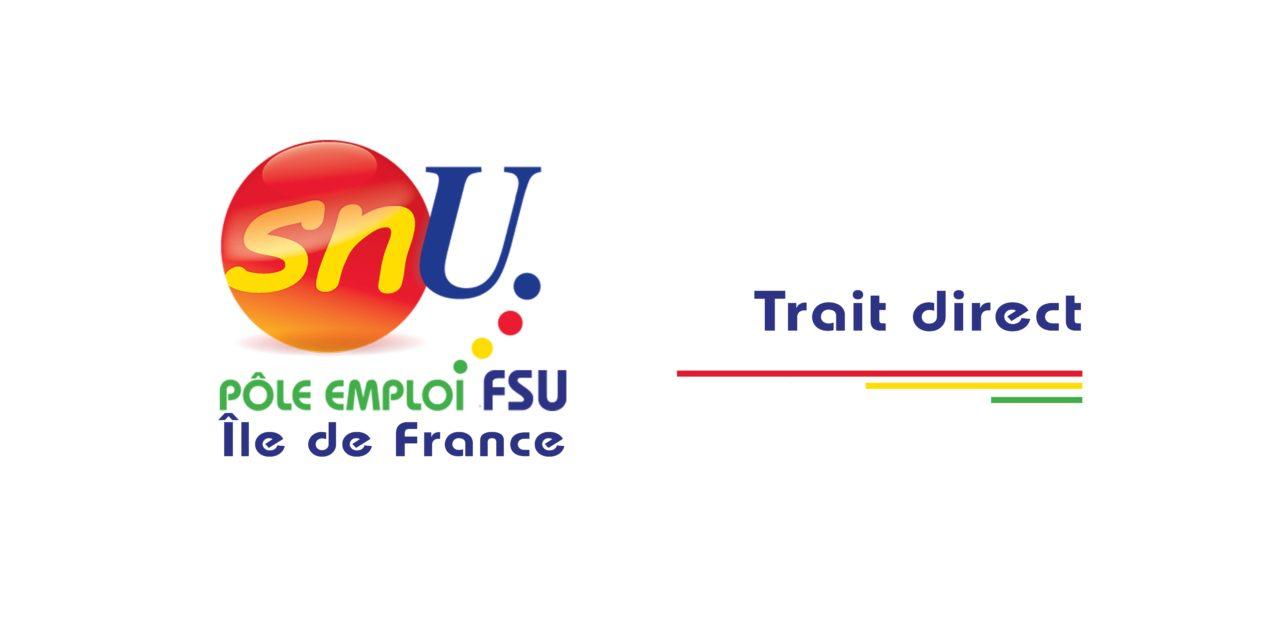 Trait Direct: La lettre d'information des cadres du SNU